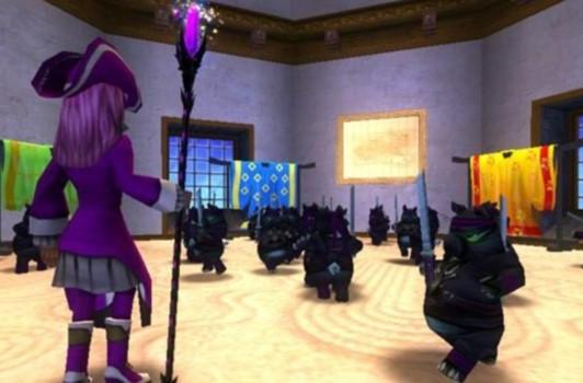 Pets *ding* in Wizard101