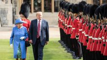 Donald Trump was 'thinking about my mother' when he met Queen Elizabeth