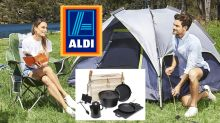 Aldi kicks off Boxing Day sales with camping Special Buys