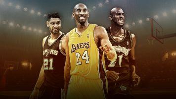 Tim, Kobe and KG: Three basketball giants