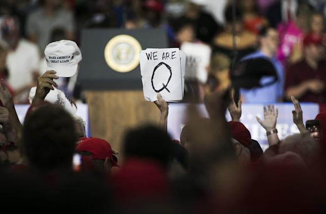 Reddit bans communities promoting QAnon conspiracy theory
