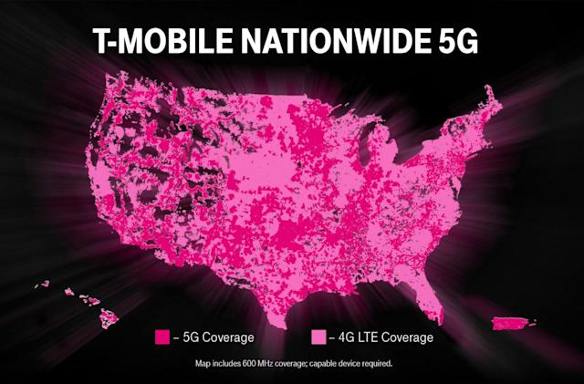 T-Mobile's 5G network goes live ahead of schedule