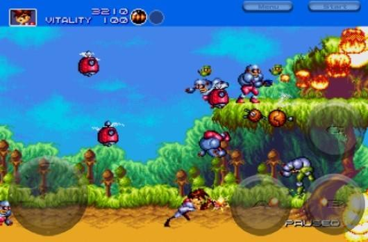 Now you can play Gunstar Heroes on iPhone, if you want