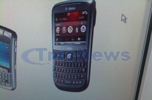 HTC Dash 3G for T-Mobile gets pictured