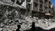 Syrian army pounds rebel areas near Damascus after Russian brokered truce