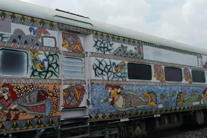 Moment of pride! Japan smitten by Mithila-painted Indian Railways trains; its trains to have India's folk art