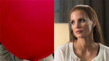 Jessica Chastain celebra que ha terminado la filmación de It 2 con una foto ensangrentada