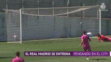 El Real Madrid se entrena pensando en el City