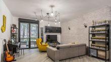 85-Quadratmeter-Wohnung mit industrieller Note