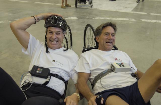 A bike accident left him paralyzed; electricity let him ride again