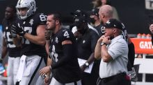 Jon Gruden ribs Derek Carr for using wife's name as audible in Week 1