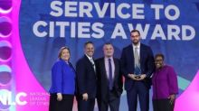 """National League of Cities Honors HomeServe USA with its """"Service to Cities Award"""""""