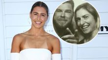 Frances Abbott engaged after two-week relationship