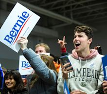 Bernie Sanders isn't polling in first place. His early-state organizing may mean that doesn't matter.