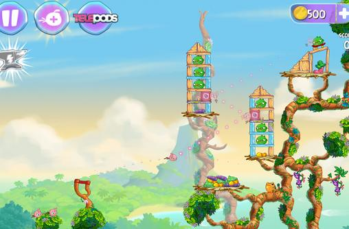 Angry Birds Stella debuts in September, is familiar, pinker