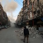 Regime strikes in Syria enclave despite ceasefire call: monitor