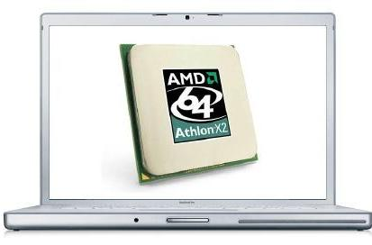 AMD processors to end up in Apple laptops?