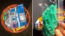 Von Hotdogs bis Interdentalbürsten: Die seltsamsten Dinge, die Kinder zu Halloween erhalten haben