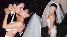 First look at Ariana Grande's Vera Wang wedding dress: 'Stunning'