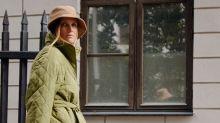 Hay una nueva tendencia de abrigos tan excéntrica que podría confundirse con una colcha