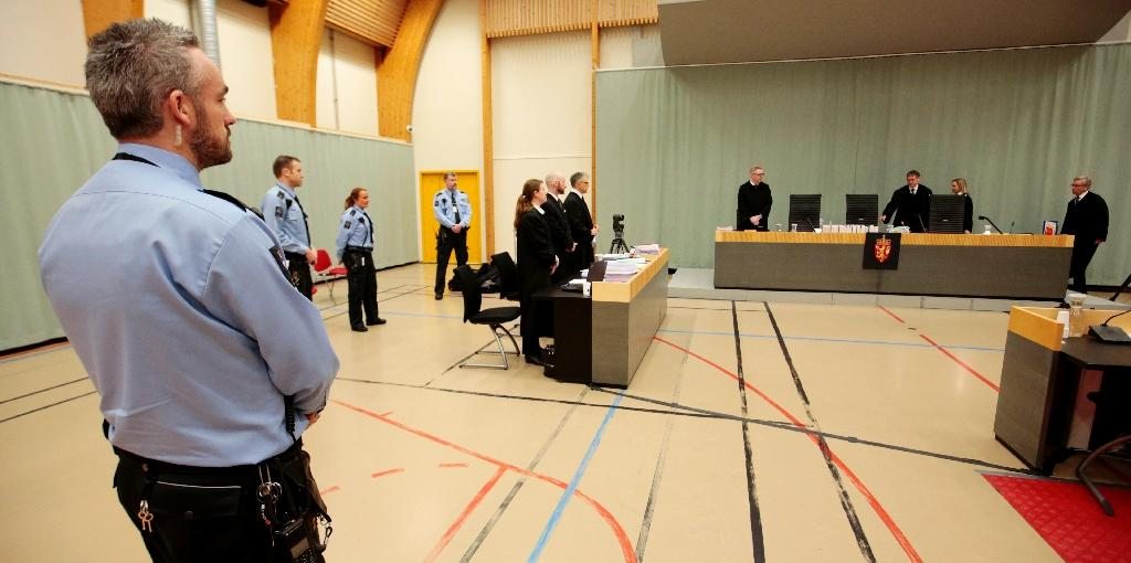 """Norway is appealing a ruling which found it guilty of treating mass murderer Anders Behring Breivik """"inhumanely"""" and in """"degrading"""" fashion (AFP Photo/Lise AASERUD)"""