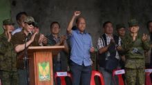Philippines' Duterte says city liberated but battle continues