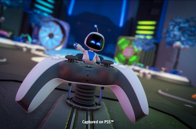 How 'Astro's Playroom' captures the magic of PS5's DualSense controller