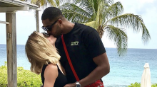 Khloe Kardashian leaves Tristan's name off card