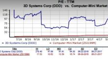 3D Systems Struggling With Demand Issues, Tough Competition