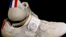 Tour de France - Les chaussures de George Bennett (Jumbo-Visma) à la loupe