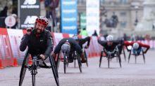 Canada's Brent Lakatos wins London Marathon men's wheelchair race