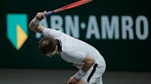 Angry Andy Murray loses to world number eight Andrey Rublev in Rotterdam