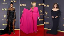 50-plus women ruled the 2017 Emmys red carpet
