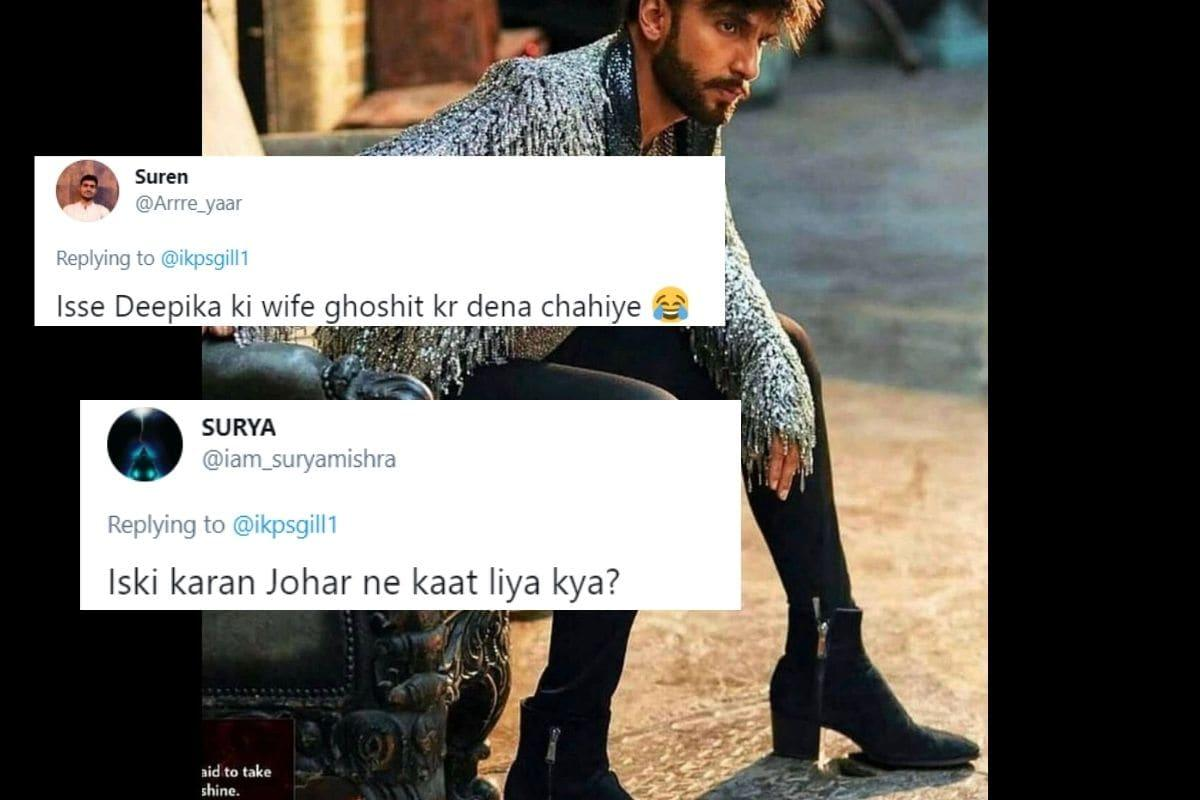 Ranveer Singh Wore Heels for a Photo and Twitter Proved India is Still Homophobic