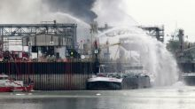 German firefighter dies 11 months after BASF explosion
