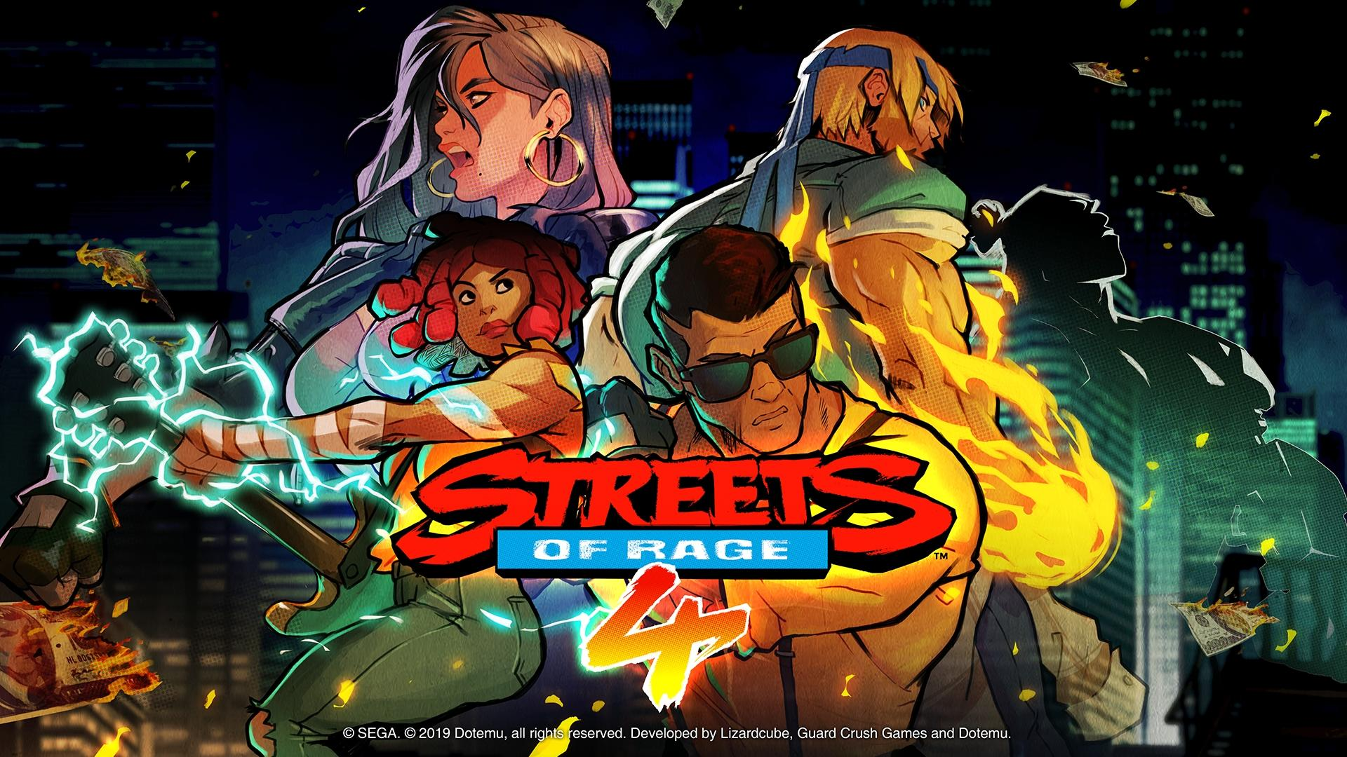 First 21 Minutes Of Streets Of Rage 4 On PC