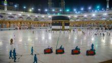 Saudis strive to prevent virus outbreak in curtailed hajj
