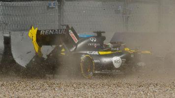 Spectaculaire sortie de piste de Daniel Ricciardo en Autriche