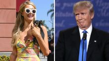Paris Hilton has some harsh words for President Donald Trump