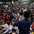 Thai protesters say they will petition Germany over king