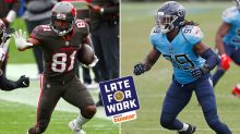 Late for Work 4/13: Pundit Makes the Case Against Signing Jadeveon Clowney and Antonio Brown