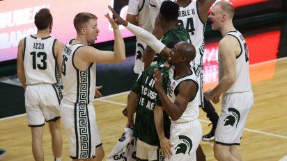 MSU likely secured NCAA tourney bid with upset