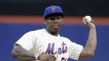 Mets give 50 Cent a chance to redeem himself after worst-ever first pitch