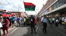 Protesters blocking roads bring Brixton to a halt