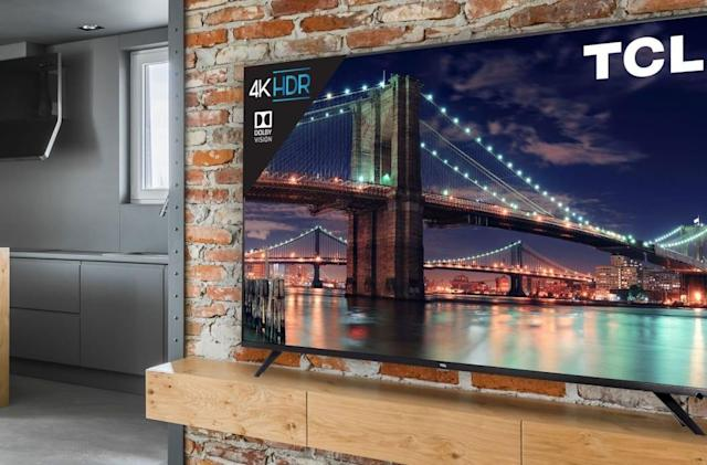 TCL's 2018 6-Series 4K TV is on sale this weekend for $400