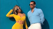 Jennifer Lopez y Alex Rodriguez ahora venden lentes de sol
