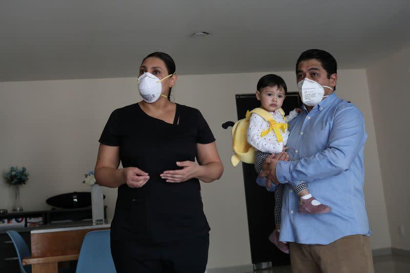 Outbreak of the coronavirus disease (COVID-19) in Naucalpan de Juarez