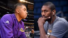 D'Angelo Russell talks of a 2018 Lakers Finals run, Metta World Peace warns of entitlement