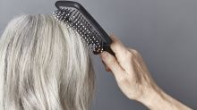 People with gray hair swear by this purple shampoo for 'shimmering' color