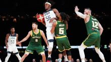 US overpower Boomers in World Cup warm-up